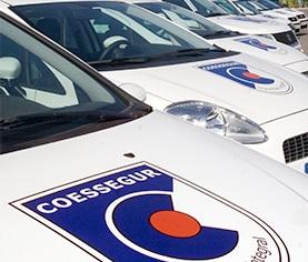 coche patrulla coessegur