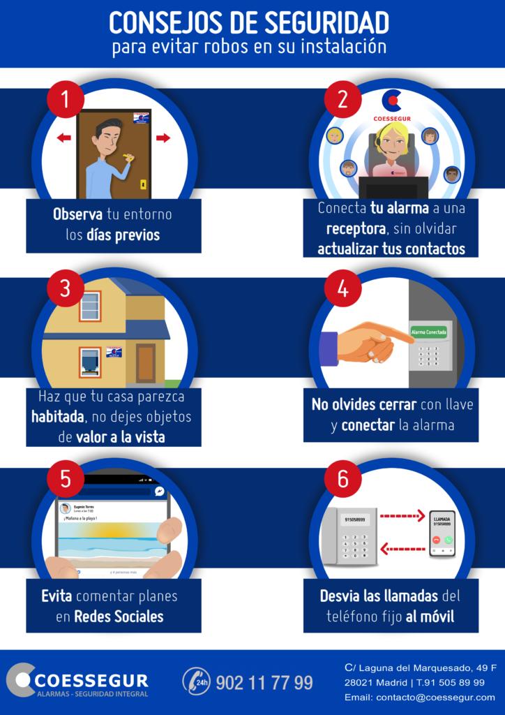6 consejos para evitar robos este verano