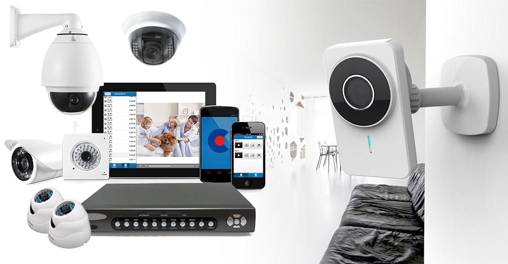 componentes video vigilancia