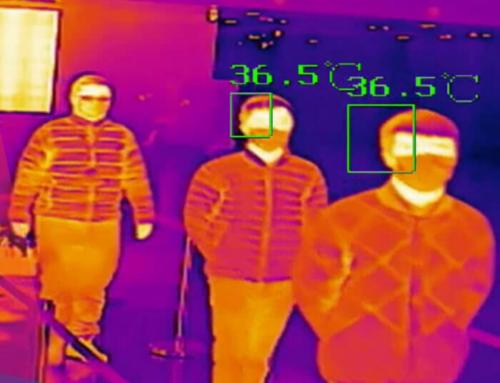 Cómo medir la temperatura corporal sin contacto