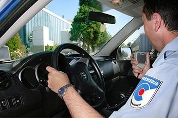 control vigilante coche coessegur